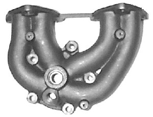 EXHAUST MANIFOLD for 1986-1989 HYUNDAI EXCEL 1.5L 4cyl